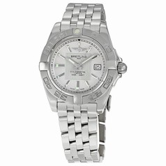 Breitling Galactic 32 Silver Dial Ladies Watch A71356L2-G702SS